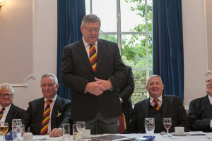 GM and DGM at Festive Board